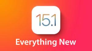 Apple Rilis iOS dan iPadOS 15.1 Beta untuk Developers